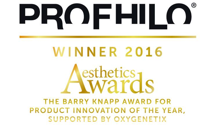 Profhilo Winnaar Aesthetics Award 2016